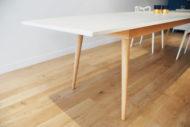Table dekton céramique - Pied compas scandinave - table de réunion - ©BrutDesign - Artisan designer - Gers - Lot et Garonne - Sud Ouest- France