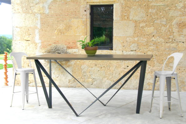 Table haute VRILLE